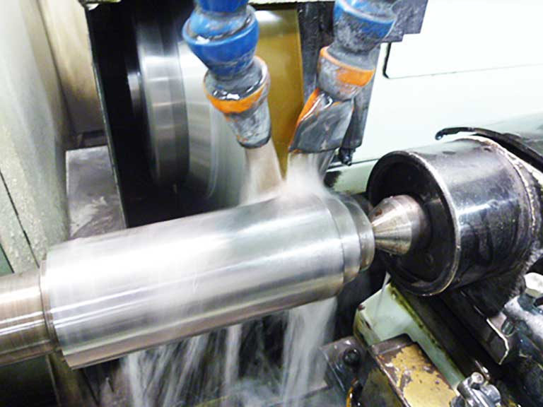 包装機械・液体充填機用ヒートシールロール(円筒研磨)
